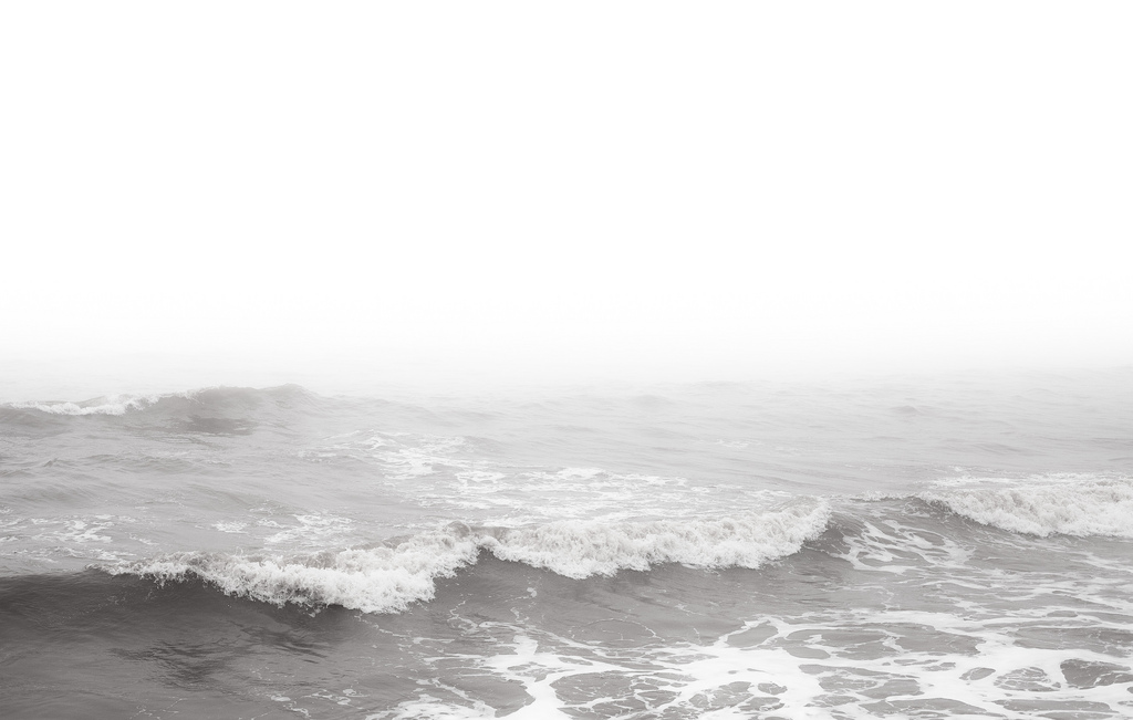 background image of a foggy sea